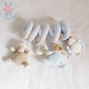 Spirale d'activités Ours Mouton bleu jouet éveil bébé NATTOU