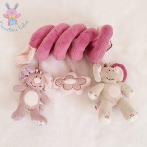 Spirale d'activités Kali Nina et Kenza jouet d'éveil bébé fille NOUKIE'S