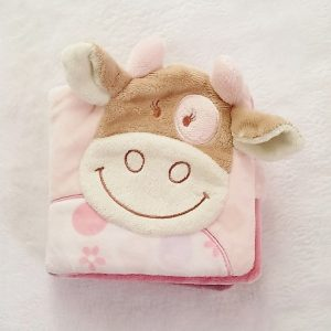 Livre d'éveil Lola la Vache velours NOUKIE'S