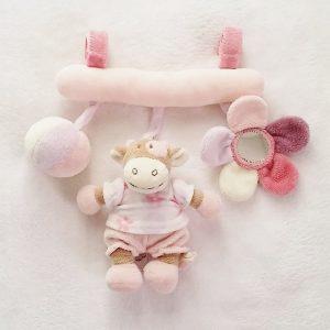 Trapèze Lola la Vache jouet d'éveil bébé NOUKIE'S