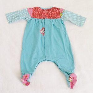 Pyjama coton bleu fantaisie bébé fille 1 MOIS CATIMINI
