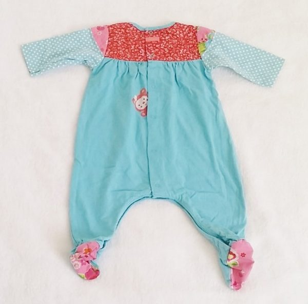 Pyjama coton bleu bébé fille 1 MOIS CATIMINI