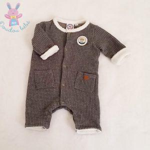 Combinaison grise bébé garçon 0/1 MOIS LA COMPAGNIE DES PETITS