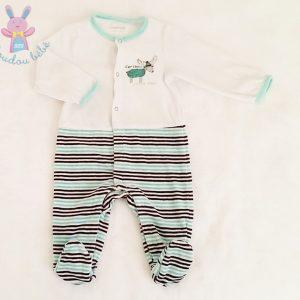 Pyjama velours bébé garçon 12 MOIS ORCHESTRA