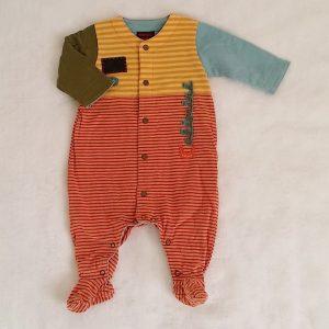 Pyjama coton doublé rayé bébé garçon 3 MOIS CATIMINI