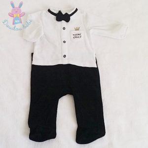 Pyjama velours Mister chic bébé garçon 3 MOIS