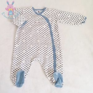 Pyjama velours bébé garçon 9 MOIS PETIT BATEAU