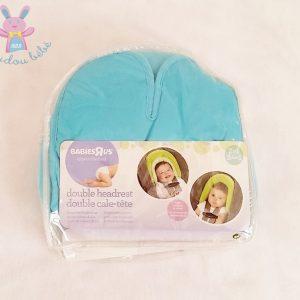 Double cale-tête turquoise bébé BABIESRUS