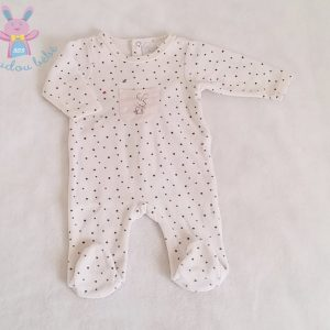 Pyjama velours bébé fille 1 MOIS CADET ROUSSELLE