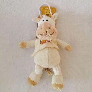 Doudou Cheval Ane beige crème BABY NAT