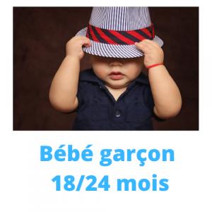 GARCON 18/24 MOIS