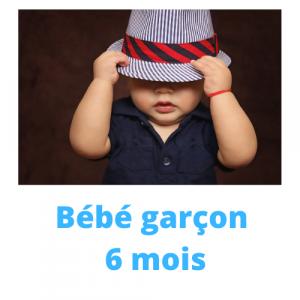 GARCON HIVER 6 MOIS